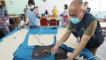 Bantu Bikin APD untuk Tenaga Medis, Sayang Siswa SMK Kekurangan Bahan Baku