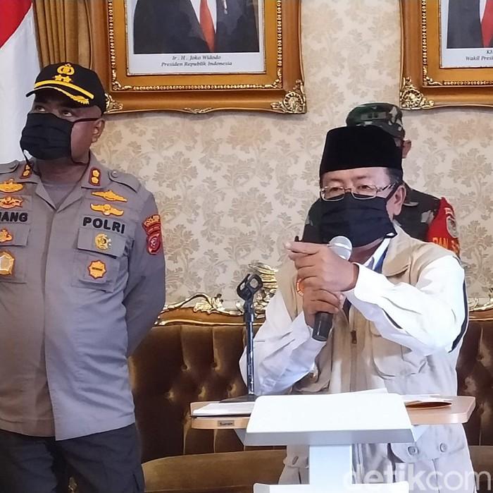 Plt Bupati Cianjur Herman Suherman soal anggaran corona