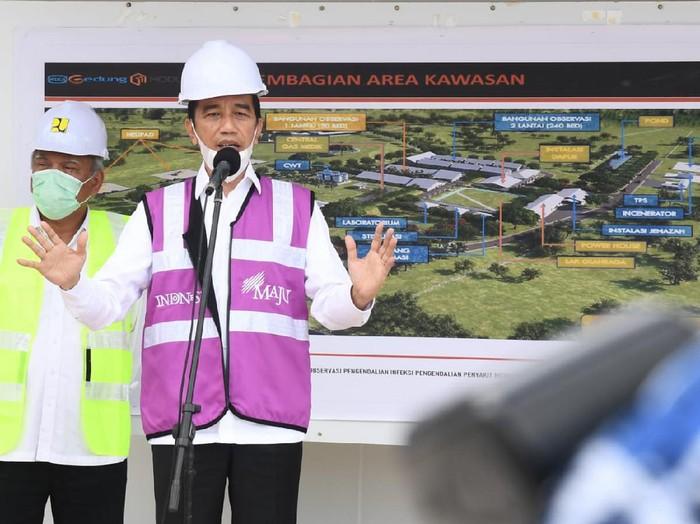 Presiden Joko Widodo (Jokowi) kunjungan kerja ke Kota Batam