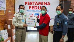 Pertamina Salurkan APD Senilai Rp 200 Juta ke Rumah Sakit di Sumsel