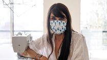 4 Cara Bikin Masker Kain Sendiri Tanpa Dijahit, Bisa Cegah Corona