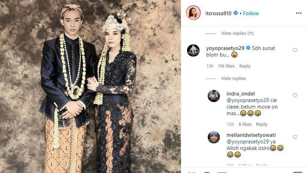 Posting Foto Pengantin dengan Kim Soo Hyun, Rossa Bikin Dian Sastro Kepo