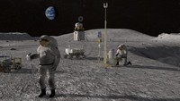 NASA Beberkan Rencana Bangun Markas di Bulan