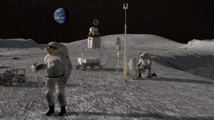 markas NASA di Bulan