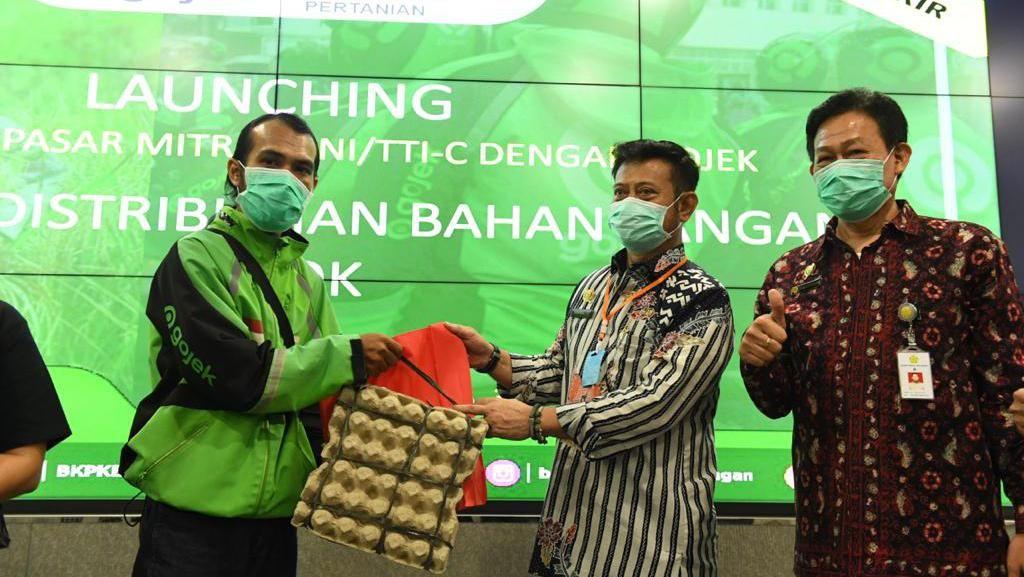 Kolab Kementan & Gojek Dinilai Buat Produksi-Distribusi Pangan Terukur