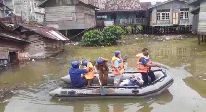 Banjir di Jambi (Ferdi-detikcom)