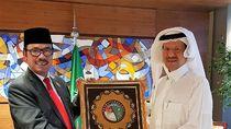 Dubes Agus Maftuh Temui Pangeran Abdulaziz Bahas Kerjasama Energi RI-Saudi