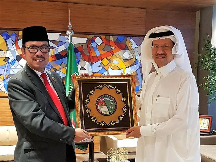 Dubes Agus Maftuh dan Pangeran Abdulaziz