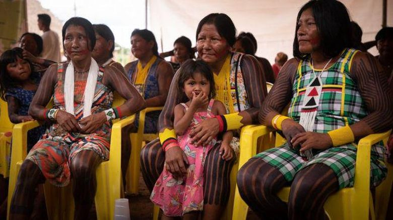 Masyarakat adat Brasil di tengah pandemi corona.