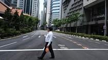 Perkantoran Tutup dan Warga di Rumah, Singapura Bak Kota Mati