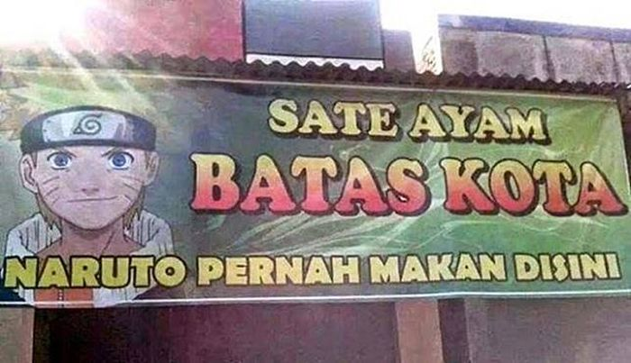 spanduk warung makan kocak