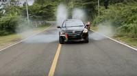 Basmi Corona, Toyota Vios Menjelma Kendaraan Water Canon