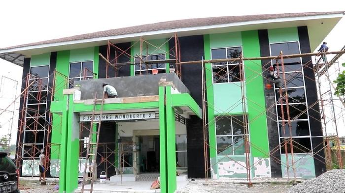 Puskesmas 2 Wonokerto yang disiapkan untuk rawat PDP dan ODP Corona di Kabupaten Pekalongan.