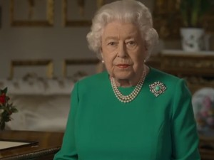 Arti Busana yang Dipakai Ratu Elizabeth Saat Pidato Pandemi Corona