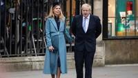 Foto: Tunangan Boris Johnson yang Lagi Hamil, Harus Terpisah Karena Corona
