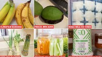 Perlu Dicoba, Begini 5 Trik Simpan Makanan Agar Lebih Awet