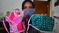 Kelas Membuat-Menjual Masker Kain di Ruangguru Dijual Rp 150 Ribu