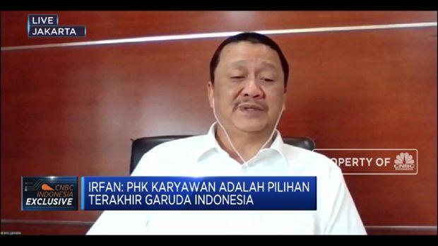 Bos Garuda: PHK Bukan Opsi GIAA Menghadapi Pandemi Corona(CNBC Indonesia TV)