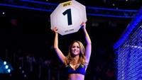 Foto: Brittney Palmer, si Seksi Octagon UFC