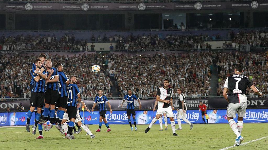 Teruntuk Ronaldo, Latihan Tendangan Bebas Lagi, Gih!