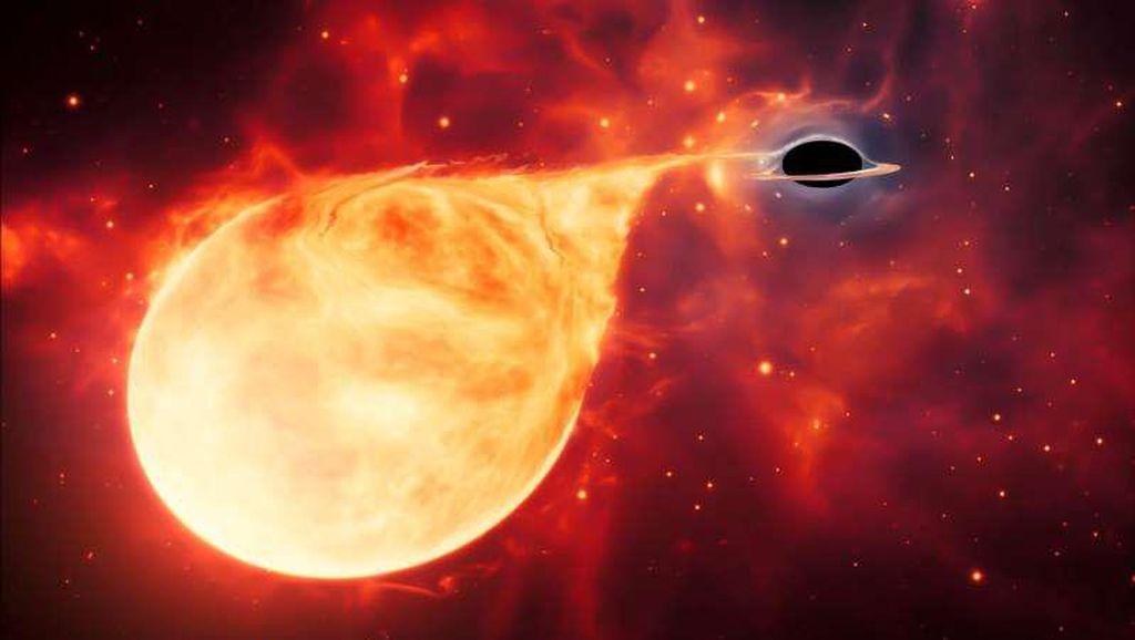 Astronom Temukan Lubang Hitam Istimewa Menelan Bintang