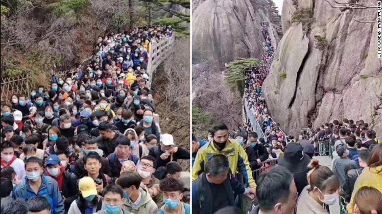 Wisatawan China di Pandemi Corona