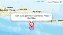 Gempa M 5,2 Guncang Blitar, BPBD Sebut Belum Ada Laporan Kerusakan