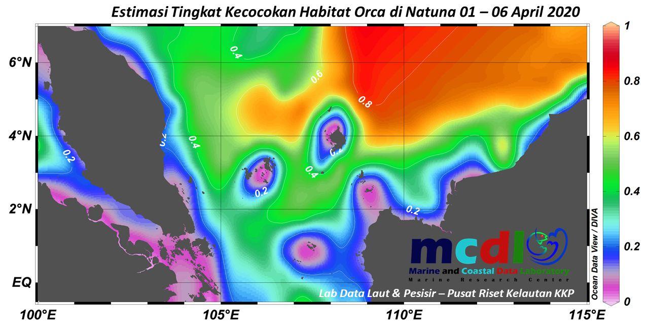 Model oseanografi Anambas