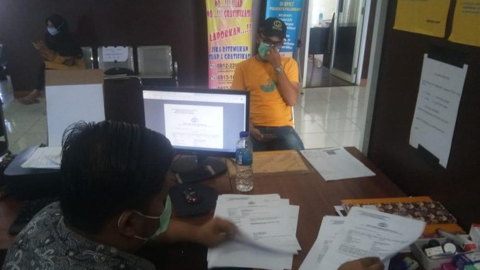 Pria di Palembang laporkan dugaan penipuan (Raja Adil-detikcom)
