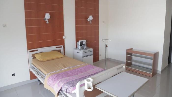 Tim Kemenag Tinjau Ruang Isolasi Pasien Corona di Asrama Haji Pondok Gede