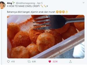 Daripada Bosan, Mending Bikin Cimol Crispy Ala Netizen!