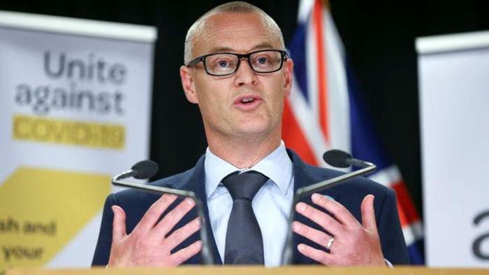 Menteri Kesehatan Selandia Baru.