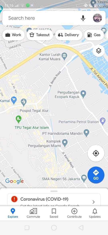 Fitur Baru Google Maps: Bisa Antar Makanan
