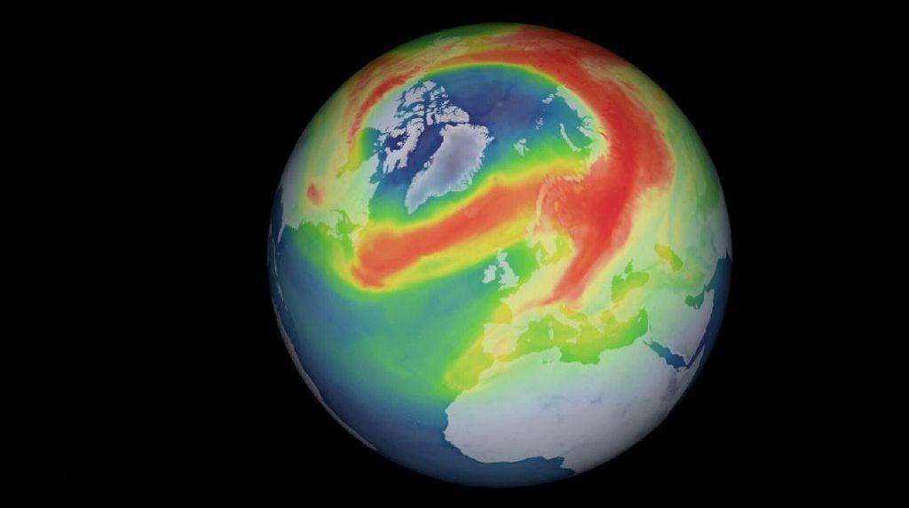 Lubang Ozon Melebar Lebih Besar dari Antartika