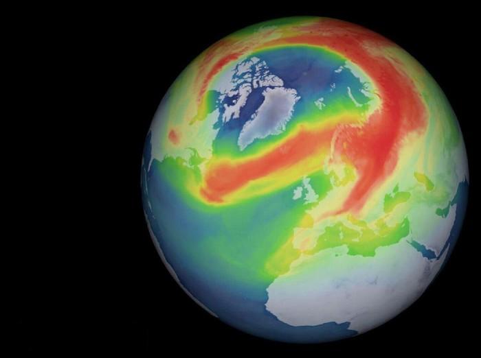 lubang ozon di arktik