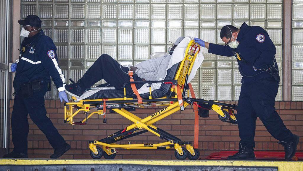 AS Catat Kematian Harian Akibat Corona Capai 1.783 dalam 24 Jam Terakhir