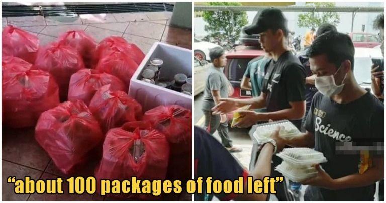 Mahasiswa buang makanan gratis yang diberikan pemerintah