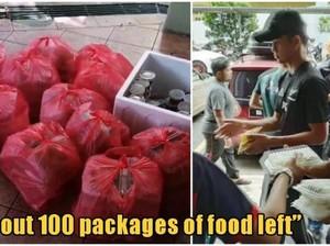 Dikasih Makanan Gratis oleh Pemerintah, Mahasiswa Ini Malah Membuangnya!