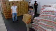 Peduli Dampak Corona, Pengusaha Karawang Sumbangkan 10 Ribu Paket Sembako