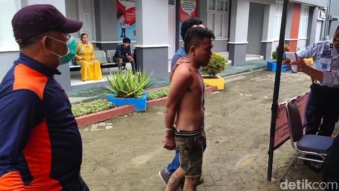 Napi di Wajo ini kembali ditangkap usai hendak mencuri. Padahal dia baru dibebaskan lewat program pencegahan Corona (dok. Istimewa)