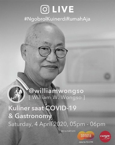 Live Streaming William Wongso