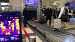 Stasiun-Bandara Wuhan Ramai Penumpang Usai Lockdown Berakhir