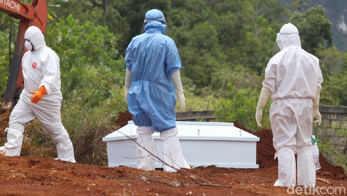 Pasien Corona meninggal di Papua (Wilpret Siagian/detikcom)