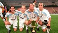 Foto: Lihat Lagi Skuad Lazio Peraih Scudetto 1999/2000