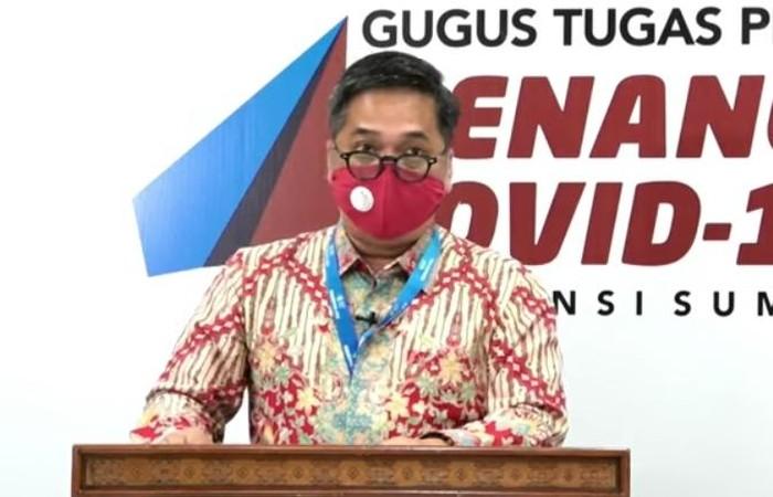 Jubir Gugus Tugas COVID-19 Sumut, Aris Yudhariansyah (dok. Istimewa)