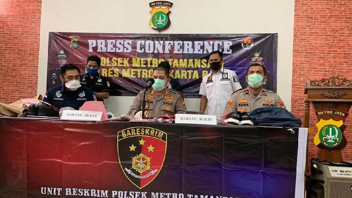 Polsek Taman Sari ungkap modus perampokan ajak kencan korban