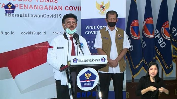 Menkominfo Johnny G Plate jamin akses internet aman tidak akan lemot meski merebaknya virus corona di Indonesia.