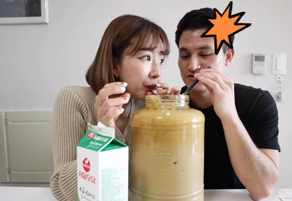 Dalgona coffee 7 liter