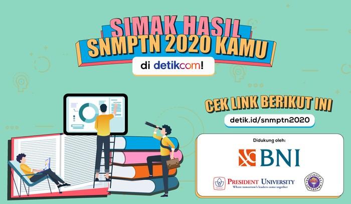Pengumuman SNMPTN 2020 (detikcom)