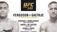 Panen Kritikan, UFC 249 Resmi Ditunda